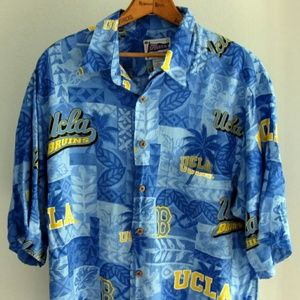 UCLA Bruins Reyn Spooner Mens XL Hawaiian Shirt